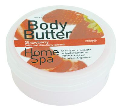body butter jordgubb